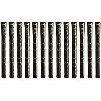 Winn dri-tac Undersizeブラックゴルフグリップバンドル(13個)