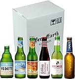 ベルギービール 飲み比べ6本 Bセット【ヴェデット、リーフマンス、マースピルス、ステラアルトワ、ミスティックピーチ】6種類/6本セット 専用ギフトボックスでお届け