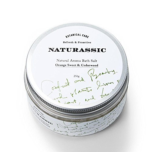 ナチュラシック ナチュラルアロマバスソルトOC オレンジスイート&シダーウッドの香り 250g [天然由来成分100%]