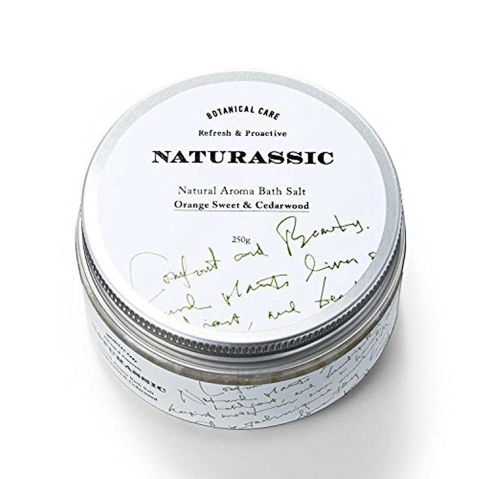 機構雷雨ハーブナチュラシック ナチュラルアロマバスソルトOC オレンジスイート&シダーウッドの香り 250g [天然由来成分100%]