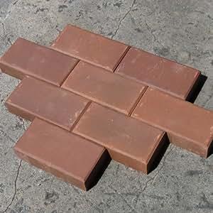清家石材 普通型 レンガ チョコレート 8個セット
