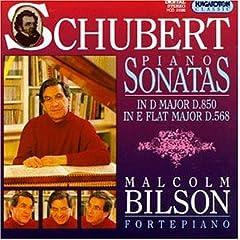 輸入盤 マルコム・ビルソン独奏 シューベルト : ピアノ・ソナタ全集 Vol.1(カタログ番号HCD 31586)の商品写真