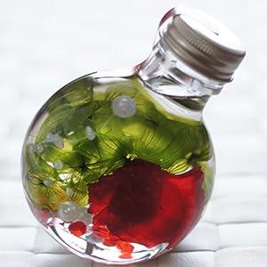 ハーバリウム 丸ボトル (カーネーション レッド)の関連商品6