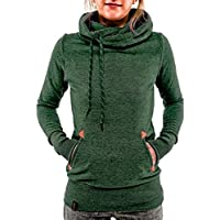 Tomsweet Women Casual Hoodies Classic Style Hooded Sweatshirt Thick Long Sleeve Pullover