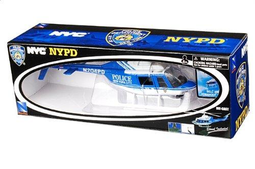 1:34 New Ray Sky パイロット 26043 ベル 206 Jetranger ダイキャスト モデル NYPD New York NY【並行輸入品】