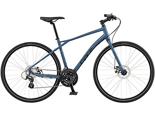 GT (ジーティー) 2016 トラフィック3.03x7sクロスバイク700C ブルー XL 9164304