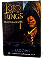 Lord of the Rings Card Game Theme Starter Deck Shadows Aragorn