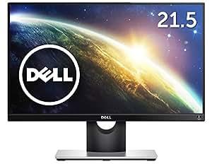 Dell ディスプレイ モニター S2216H 21.5インチ/フルHD/IPS光沢/6ms/VGA,HDMI/スピーカ内蔵/フレームレス/3年間保証