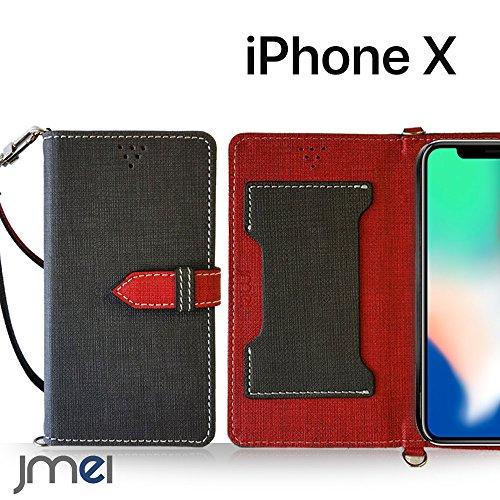 iPhone X ケース手帳型 アイフォンx カバー ブランド 手帳 閉じたまま通話ケース VESTA ブラック iphone x edition simフリー スマホ カバー 携帯ケース 手帳型 スマホケース 全機種対応 ショルダー スマートフォン