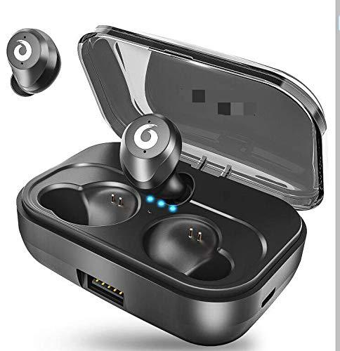 【最新版 Bluetooth5.0ワイヤレスイヤホン】ワイヤレスイヤホン Bluetooth イヤホン Hi-Fi高音質 IPX7完全防水 ワイヤレス イヤホン 自動ON/OFF AAC/SBC対応 左右分離型 Siri対応 音量調整可能 マイク内蔵 自動ペアリング ブルートゥース イヤホン iPhone/ipad/Android適用