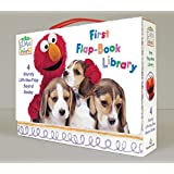 Elmo's World: First Flap-Book Library (Sesame Street) (Sesame Street(R) Elmos World(TM))