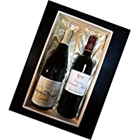 シャトー・ソシアンド・マレとシャブリ プルミエ クリュ(1級)紅白ワインギフト 木箱入り 750ml×2本 クール便発送