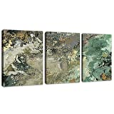 """Vintage Abstract Canvas Wall Art Modern Abstract Painting Prints Canvas Pictures Artwork Contemporary Wall Art for Bedroom Living Room Bathroom Decoration Framed Ready to Hang 12"""" x 16"""" x 3 Pieces"""