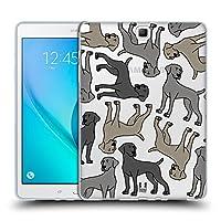 Head Case Designs ウェイマラナー ドッグブリード・パターンズ6 Samsung Galaxy Tab A 9.7 専用ソフトジェルケース