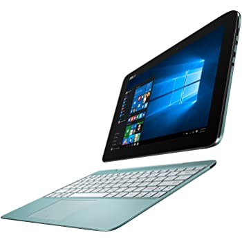 ASUS 2in1 タブレット ノートパソコン TransBook T100HA-BLUE Windows10/Microsoft Office Mobile/10.1インチ/アクアブルー