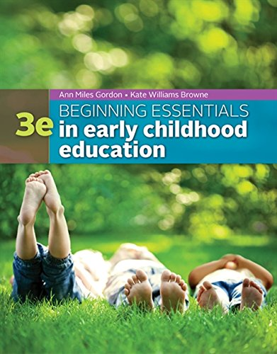 Download Beginning Essentials in Early Childhood Education 1305089030