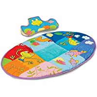 Taf Toys Pond Mat Thickly Padded Playmat and Tummy-Time Pillow by Taf Toys