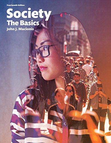 Download Society: The Basics (14th Edition) 0134206320