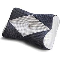 MyeFoam 枕 安眠 人気 頭·首·肩を支える枕 低反発ピロー 寝返りサポート洗える 通気性まくら