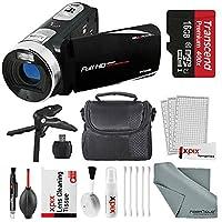 Bell & Howell Fun Flix DV50HD HD Black Video Camera Camcorder Basic Bundle. Tripod + LED Light + Case + Video Stabilizer + Filter Kit + Xpix Deluxe Cleaning Kit + More 141[並行輸入]