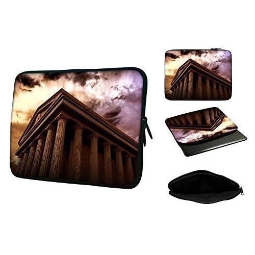 Snoogg 13インチto 13.5インチラップトップノートパソコンSlipcaseスリーブソフトケース携帯ケースfor MacBook Pro Acer Asus Dell Hp Sony Toshiba