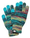 (エヴォログ)Evolg AZTECA 液晶タッチ対応手袋 LET 2307  BLUE Free