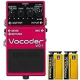 BOSS コンパクトエフェクター ギターとベースに新たな表現力を追加するボコーダー。 +信頼の9Vアルカリ電池PROCELL 2個付き VO-1(Vocoder)