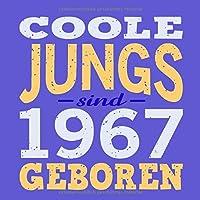 Coole Jungs sind 1967 geboren: Cooles Geschenk zum 52. Geburtstag Geburtstagsparty Gaestebuch Eintragen von Wuenschen und Spruechen lustig / Design: Spruch lustig Vintage Retro