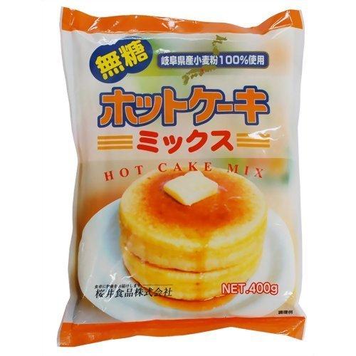 ホットケーキミックス・無糖 400g