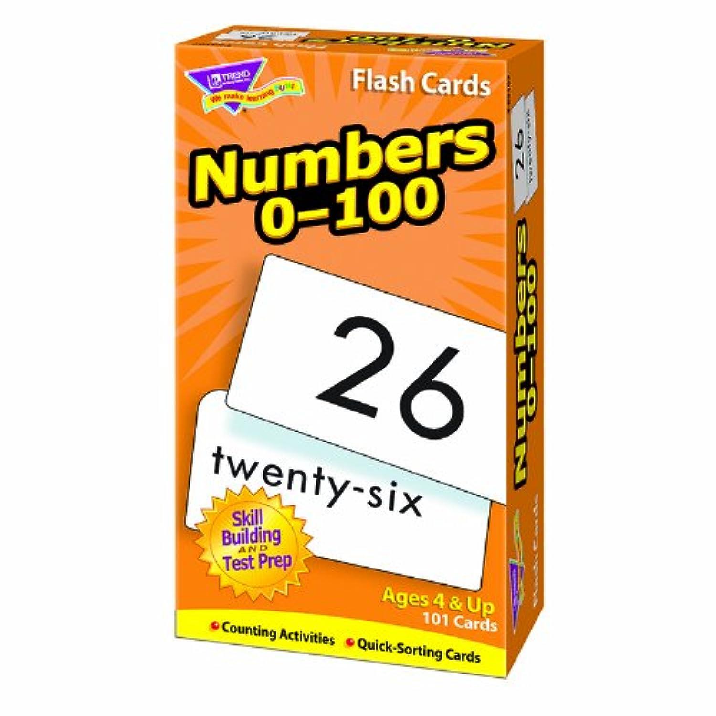 Trend Enterprises Inc。フラッシュカード番号0 – 100 101 /ボックス T-53107