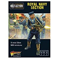 Bolt Action Royal Navy Section Box - Metal