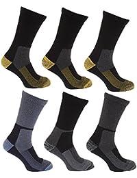 メンズ あったかウールブレンド 作業用 ソックスセット 靴下セット (6足組) 男性用