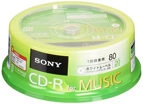 CD-R オーディオ用 20CRM80PWP