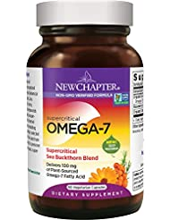 海外直送品Supercritical Omega 7, 60 Softgels by New Chapter