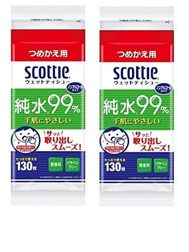 【まとめ買い】 スコッティ ウェットティシュー 純水99% ...