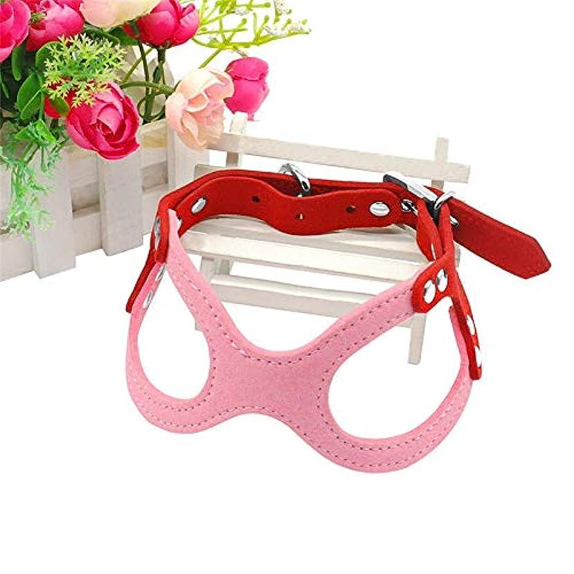 帽子拳調査FidgetGear チワワヨーキーXXXS/XXS/XS/Sサイズのためのかわいい小型犬ハーネスベストソフトハーネス ピンク