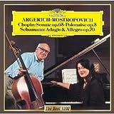 ショパン:チェロ・ソナタ、序奏と華麗なるポロネーズ/シューマン:アダージョとアレグロ 画像