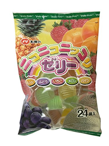 七尾製菓 ニコニコニッコリゼリー 24個×16袋