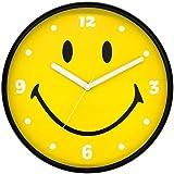 スマイル ウォールクロック SMILE にこちゃん アメリカン雑貨 時計 SM-5556910