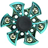 Spinarooz Hand Spinner Novelty Toy - Fidget Spinner - 3 in 1 - Jump, Bounce, Spin - Blue