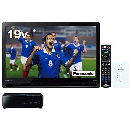 パナソニック 19V型 ポータブル 液晶テレビ プライベート・ビエラ ブラック UN-19F8-K + 無線LAN中継器セット