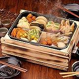 おでん鍋 電気 本格的 業務用 家庭用 木蓋 フタ付き 仕切り付 おでん 多用途おでん鍋 ふるさとのれん 日本製