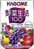 カゴメ 野菜生活100 ベリーサラダ 100ml×36本