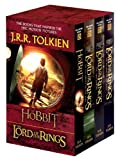 J.R.R. Tolkien 4-Book Boxed Set: The Hobbit and The Lord of the Rings (Movie Tie-in): The Hobbit, The Fellowship of the Ring, The Two Towers, The Return of the King