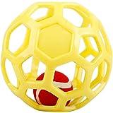 犬用おもちゃ ホーリーローラーボール 直径14.2cm 中小型犬用 ゴム材質-カラーランダム