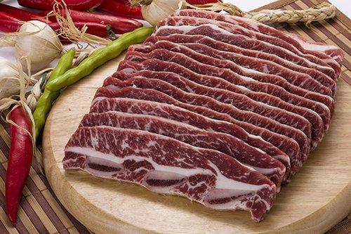★冷凍食品★LA骨付きカルビ1kg