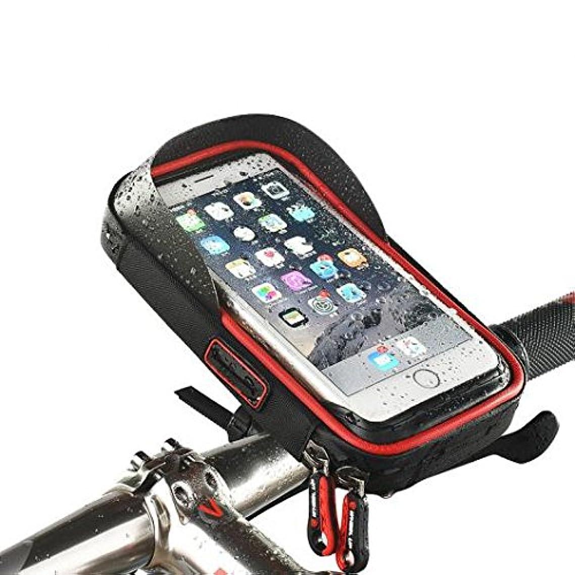 スクリューやさしい経験的AL バイク自転車防水 バッグ ホルダー バイクマウント対応 iPhone Andriod オール 6インチ未満 AL-AA-2318