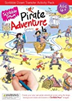 Scribble Down Pirate Adventure Transfer Activity Packs by Scribble Down [並行輸入品]