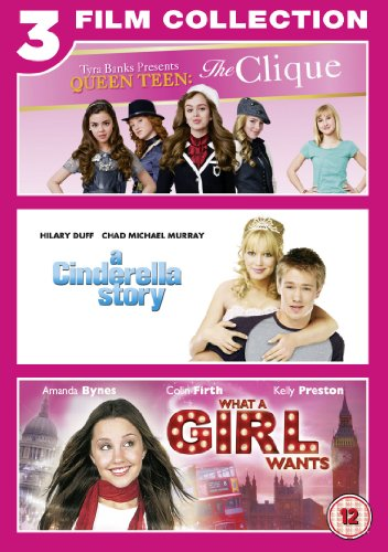 The Clique/A Cinderella Story/What a Girl Wants [Region 2]