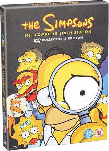 Amazon.co.jp通販サイト(アマゾンで買える「ザ・シンプソンズ シーズン6 DVDコレクターズBOX」の画像です。価格は7,943円になります。